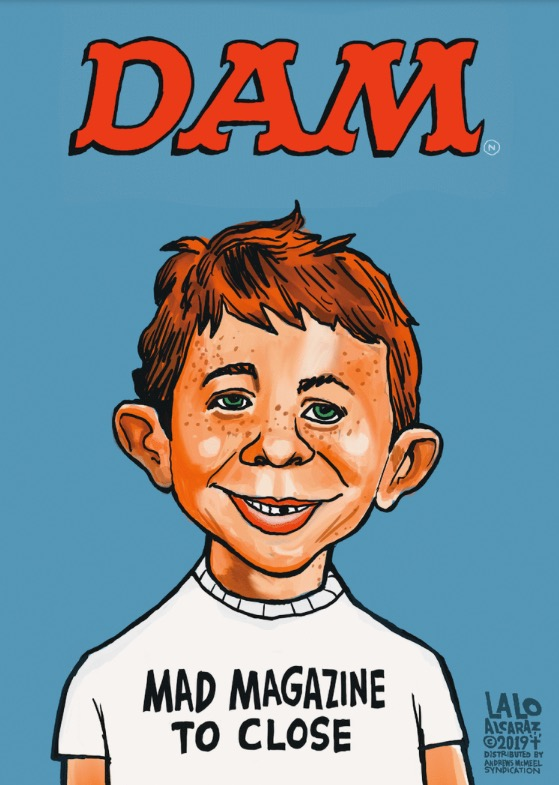 MAD magazine to close July 12